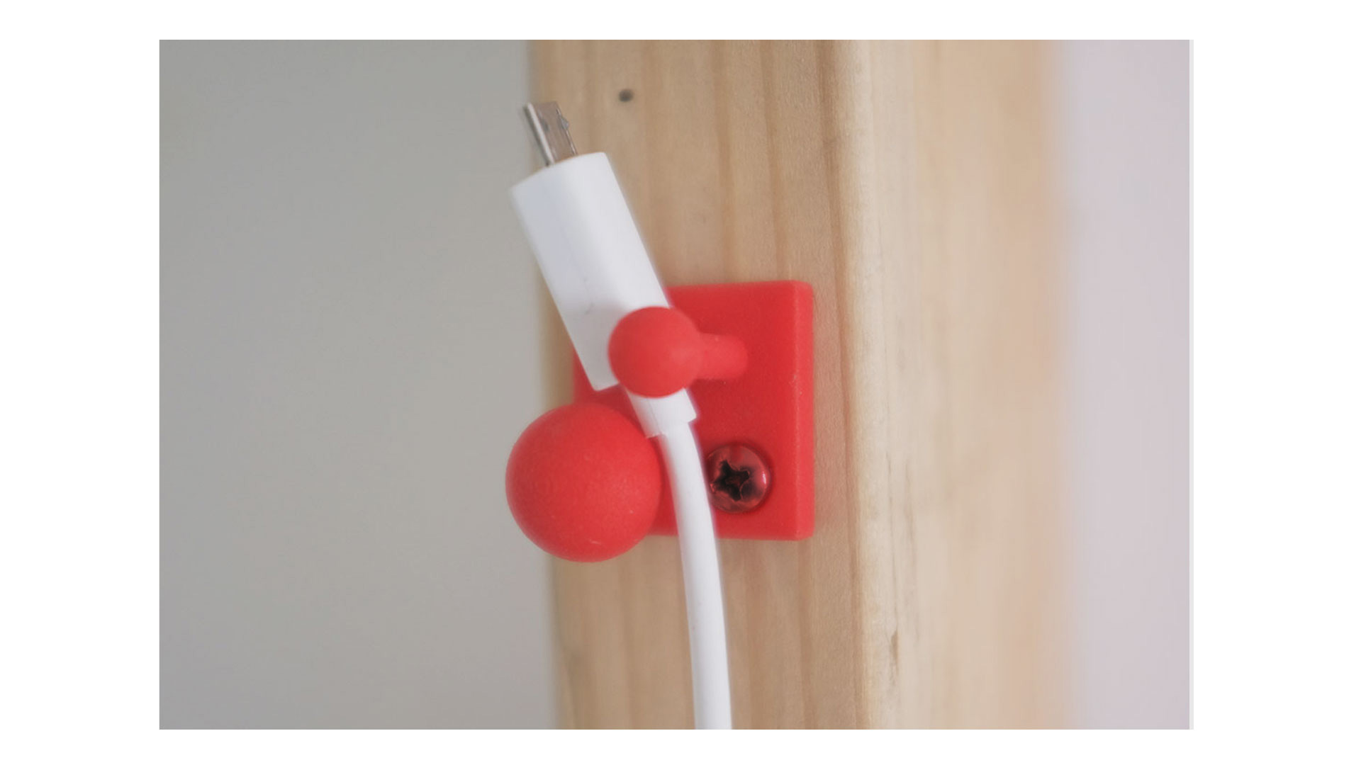 Ball & Peg cable manager