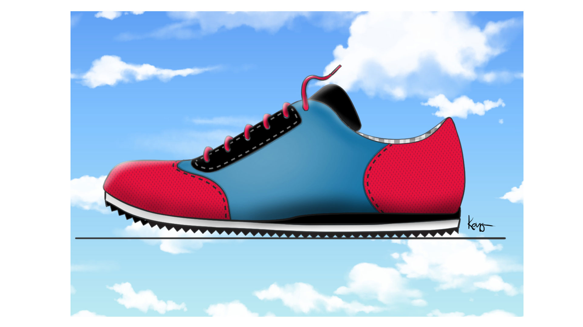 Bowling-sneakers-concept